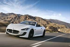 Maserati on road