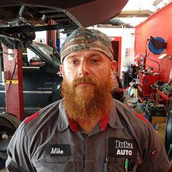 Technician Mike Cafonie
