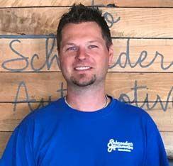 Josh Schroeder, East Shop General Manager