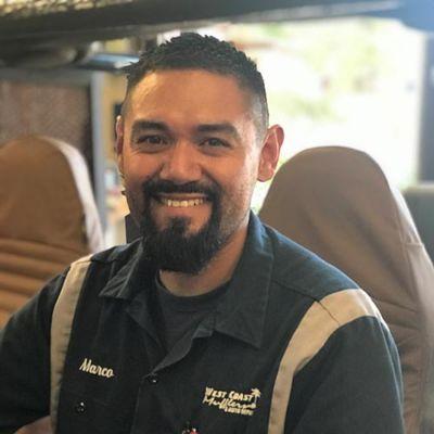 Marco Mendoza, Smog Technician