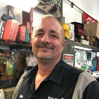 Mike Newell, Service Writer & Owner