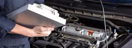 Mechanic with check list