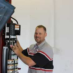 Casey Wagner SVC Technician